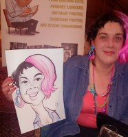 Caricature Artists Staffordshire Leek Manchester